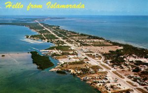 FL - Islamorada. Overseas Highway. Aerial View