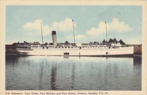 S.S. Keewatin , Fort William & Port Arthur , Ontario , Canada , 30-40s