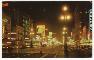 New Orleans, La, Canal Street At Night