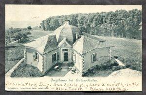dc795 - OOS Germany 1903 Jagdhaus. Hunting House. Postcard