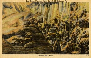 PA - Hellertown. Lost River Caverns, Crystal Ballroom