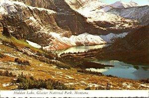 Montana Glacier National Park Hidden Lake