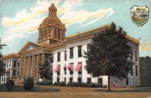 Capital Building, Tallahassee, Florida, Early Embossed Postcard, Unused