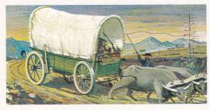 Trade Cards Brooke Bond Tea Transport Through The Ages No 4 Ox Wagon