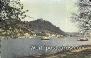 Konigswinter a Rh Germany, Deutschland Postcard Der Schone Rhein Konigswinter...
