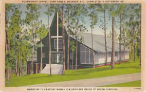 Boatwright Chapel , Camp Rawls , WAGNER , South carolina, 1930-1940s