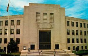 Lynn Massachusetts~Memorial City Hall~Art Deco Auditorium~1950s Postcard