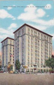 Washington DC Hotel Hamilton 14th And K Streets North West