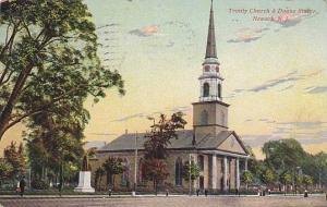 Trinity Church & Doane Statue, Newark, New Jersey, PU-1911
