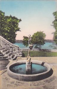 Joy Of The Wonders Fountain Valeria Home Oscawana New York Albertype