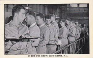 New Jersey Camp Kilmer In Line For Chow