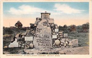 USA Cairn on Pinnacle, Jacob's Ladder Roadway Becket, Mass.