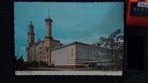 Continental Murat Temple Downtown Indianapolis Indiana Posted Danville 1975