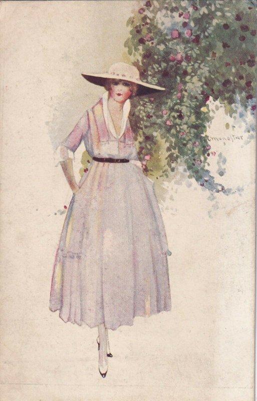 Art Deco Fashion Girl , 1910s #4