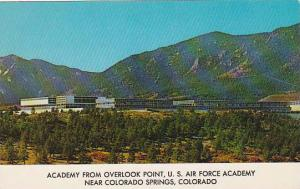Colorado Colorado Springs Academy From Overlook Point U S Air Force Academy