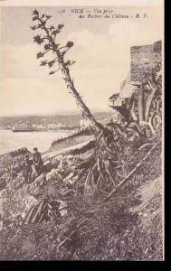 France Nice Vue prise des Rochers du Chateau