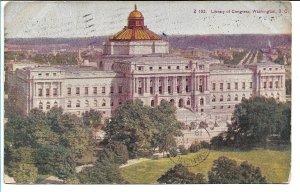 Washington, DC - Library of Congress - 1909