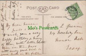 Genealogy Postcard - Green - 24 Rosebery Avenue, Manor Park, Essex RF7828