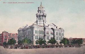 Exterior,Court House,Stockton,California,00-10s