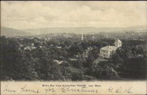 Lee MA Birdseye View c1910 Postcard rpx