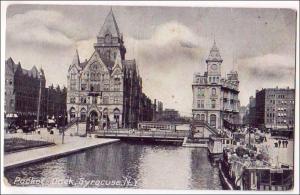 Packet Dock, Erie Canal, Syracuse NY