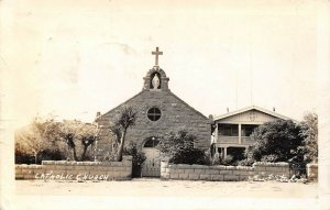 LP10   Kingman Arizona Catholic Church RPPC Postcard