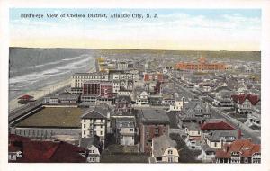 Atlantic City NJ~Birdseye Chelsea District~Creston Baths~Beach~Homes~1926 PC