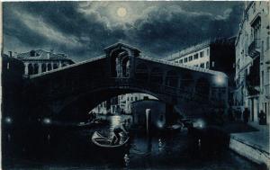 CPA VENEZIA Ponte di Rialto . ITALY (507373)