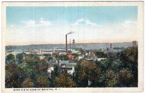 Bird's Eye View Of Bristol, R. I.