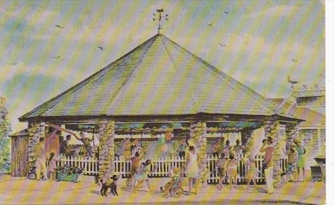 Rhode Island Watch Hill The Carousel