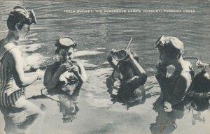 ROXBURY, Vermont, 1920-30s; Teela-Wooket, The Horseback Camps, Scuba Diving