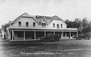 Shoreham Minnesota Pettibone Lodge Real Photo Vintage Postcard JJ658729