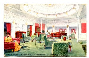 Cunard Line - RMS Carmania-Caronia, Drawing Room