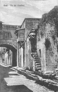 Italy, Rodi, Forte S. Via del Cavalieri