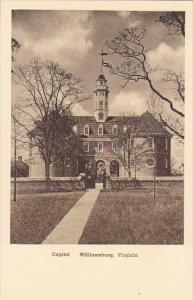 Capitol Williamsburg Virginia Albertype