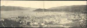 spain, VIGO, 2x pc Panorama (ca. 1910)
