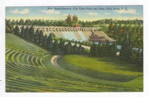 Amphitheatre, City Lake Park and Dam, High Point, North Carolina, 30-40s