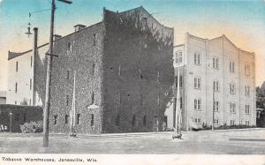 Janesville Wisconsin~Tobacco Warehouses~Ivy Covered~1910 Postcard