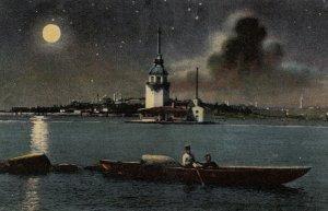 Constantinople (Istanbul) , Turkey , 1900-10s ; Tour de Leandre