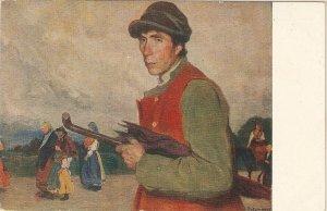 F.A. Sotomayor. To the Fair. A la Feria· Fine painting, nice Spanish PC 1920s