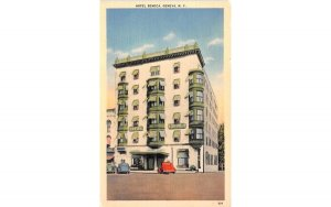 Hotel Seneca Geneva, New York Postcard
