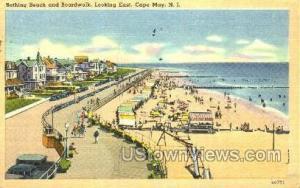 Beach  Cape May NJ 1950