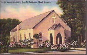 GA St Simons Island Methodist Church