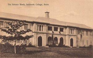 Ghana Gold Coast Accra The Science Block Achimota College Postcard