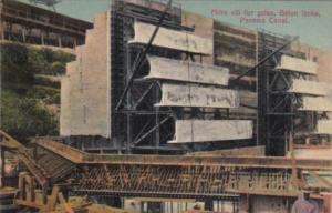 Panama Mitre Sill For Gates Gatun Locks Panama Canal