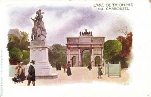 CPA Paris 1e (Dep. 75) L'Arc de Triomphe (79084)
