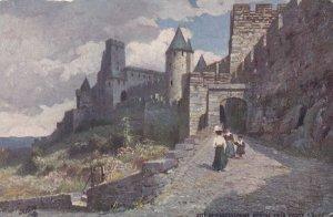 Cite De Carcassonne , Montee De La Porte D'Aude , France , 00-10s ; TUCK
