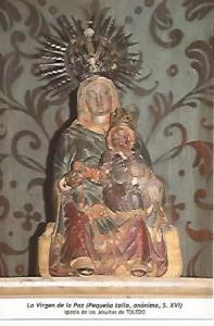 POSTAL 54600: Virgen de la Paz siglo XVI. Toledo