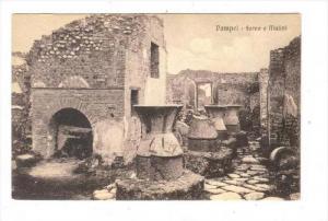 Forno e Mulini, Pompei (Campania), Italy, 1900-1910s