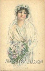 American Girl No. 51 Artist Signed Alice Luella Fidler (USA) 1922 wear right ...